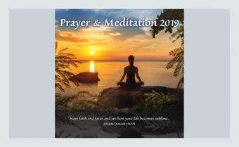 Prayer & Meditation, a Truth Consciousness Calendar
