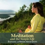 Meditation and the Simple Life