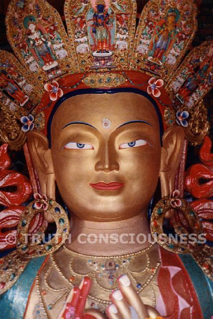 Buddha, Thikse Gompa Ladakh, India