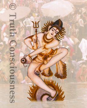 Dancing Shiva,  Varanasi, India